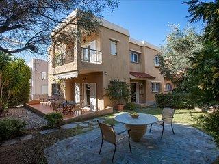 Villa Sofi Dream with a green courtyard near the center and beach in Saronida. - Saronida vacation rentals