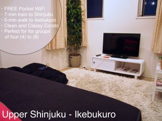 Upper West Tokyo/Ikebukuro - Shopping, Skyscrapers, Anime and more! - Shinjuku vacation rentals