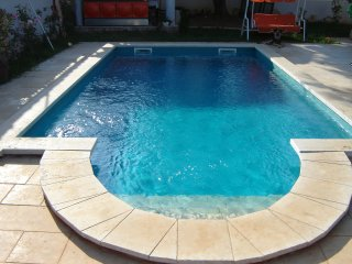 Family apartment with big garden & private pool - Medulin vacation rentals