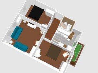 Große Wohnung für 8 Personen, Nähe Zentrum, free Wi-Fi & Parking - Jena vacation rentals