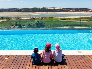 Possibly the best view ever! Wonderful facilities & a magical place for children - Foz do Arelho vacation rentals