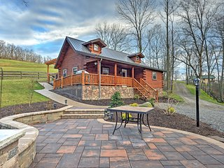 NEW! 1BR + Loft Dundee Cabin w/ Private Hot Tub! - Dundee vacation rentals