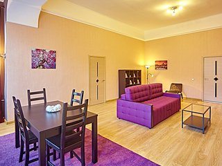 Large one-bedroom apartment - Nevsky Prospekt 77 - Saint Petersburg vacation rentals