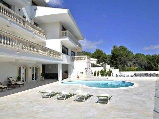 Luxury villa with gym for 14 people in Son Vida (Palma) - Palma de Mallorca vacation rentals