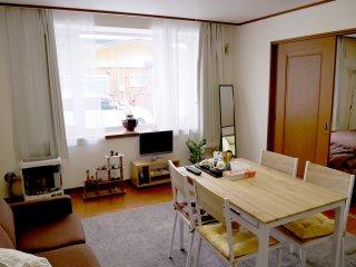 Hakodate 50㎡ 1bedroom cozy apartment with freeparking - Hakodate vacation rentals
