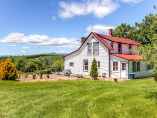 James Gandolfini Stayed Here! Rustic 5BR Mount Snow Farmhouse on 120 Private Acres w/Wifi! - Whitingham vacation rentals