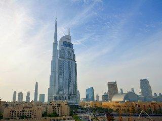 Studio Apartment next to Burj Khalifa : Burj Al Nujoom - Dubai vacation rentals