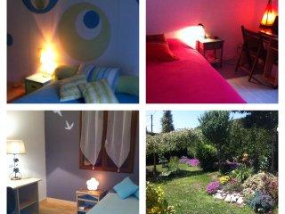 Jolie maison à la campagne avec jardin, jacuzzi - proche Lourdes et Pyrénées - Juillan vacation rentals