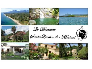Le Domaine : Villa privative pour 8 personnes ( N° C5 ) - Santa Lucia di Moriani vacation rentals