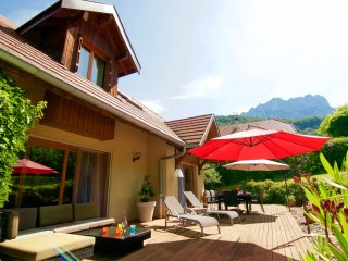 Menthon St B. Spacieuse maison contemporaine - Menthon-Saint-Bernard vacation rentals