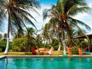 Pousada Villa Jodie bar restaurant piscine vue mer avec jardin et parking voitur - Fortim vacation rentals