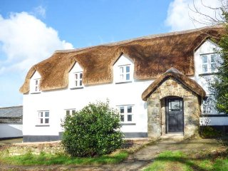 THE LONG HOUSE, thatched farmhouse, woodburner, snooker room, use of private grass landing air strip, near Sheepwash, Ref 934897 - Sheepwash vacation rentals
