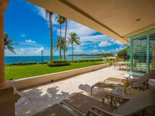 ASK FOR DISCOUTNS - Grandiose 3 Bedroom Ocean Front Villa on Fisher Island - Miami Beach vacation rentals