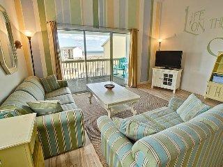 Surf Condo 332 - Magnificent Ocean View, Coastal Decor, Pool, Beach Access - Surf City vacation rentals
