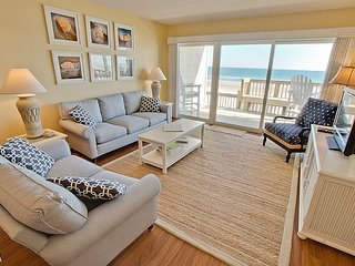 Queen's Grant E-116 - Dynamic Oceanfront View, Pool, Hot Tub, Boat Ramp & Dock - Topsail Beach vacation rentals