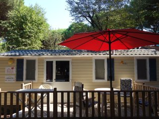 Chalet Italie, Comacchio direct aan zee 4* camping - Lido di Spina vacation rentals