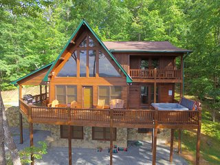 Mountain Views - Hot Tub - Sleeps 10 - *Game Room* - Morganton vacation rentals