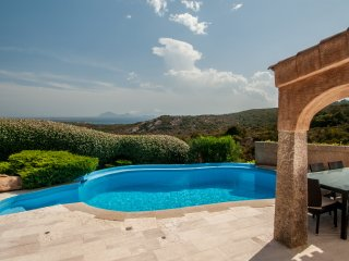 Villa Pevero Hills 5 with pool and sea view for 10 persons - Abbiadori vacation rentals