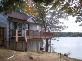 Waterfront Cottage Home with Beautiful Views of Spider Lake -windjammeronthelake - Traverse City vacation rentals