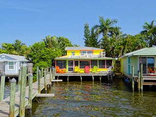 "THE RHINESTONE FISHERMAN  ""Bay  Is Your Backyard"" - Matlacha vacation rentals"