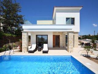 Golden villa 1. Luxury 3 bedroom beach villa with private pool. - Chlorakas vacation rentals