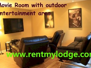 Chattanooga Movie Room, Wifi and Outdoor Intimacy - Chickamauga vacation rentals