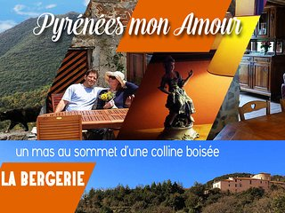 """LA BERGERIE 3 épis """"Pyrénées mon Amour"""" - Saint-Paul-de-Fenouillet vacation rentals"""