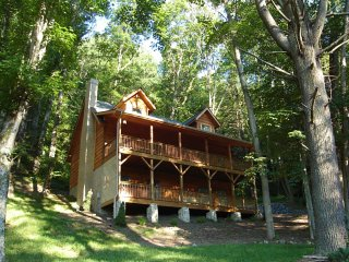 Gorgeous Cabin with Internet Access and A/C - Valle Crucis vacation rentals