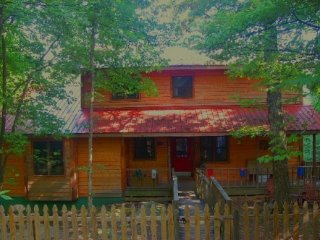 Perfect Cabin with Deck and Internet Access - Menlo vacation rentals