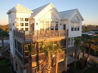 Cape Cottage - 4+Bed, 5 Baths, Elevator, Shared Pool,Screen Porch, Gulf Views - Cape San Blas vacation rentals