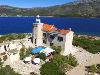 Lighthouse with pool for rent near Korcula island - Korcula Town vacation rentals
