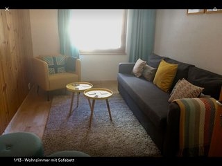 Family friendly apartment with large garden surrounded by mountains! - Saint Niklaus vacation rentals