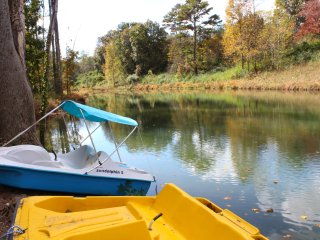 Waterside Escape: Complete Privacy, Fishing Pond and Paddle Boats, Game Room - Helen vacation rentals