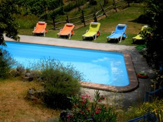 Apartment with 2 rooms in Moasca, with pool access, furnished terrace and WiFi - Moasca vacation rentals