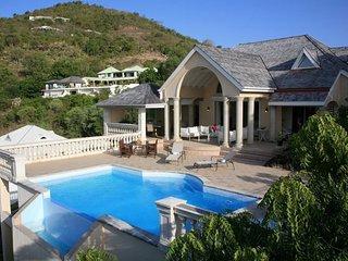 VILLA INCONTOURNABLE AVEC VUE DEGAGEE SUR LA MER - Saint Martin vacation rentals