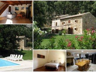 Tauleigne en Provence mas Provençal - Saint-Restitut vacation rentals