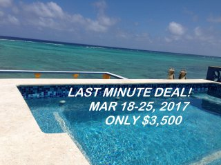 LOW RATES LUXURY BEACHFRONT VILLA Includes Cook, 2 Pools, WiFi, More - Tulum vacation rentals