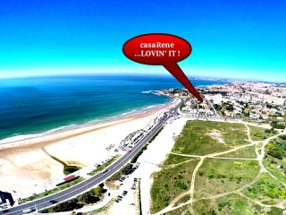 #casaRene, 4 rooms, SEA VIEW, beach, BEAUTIFUL - Carcavelos vacation rentals