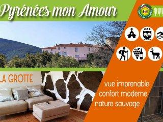 """LA GROTTE 3 épis """"Pyrénées mon amour"""" - Saint-Paul-de-Fenouillet vacation rentals"""
