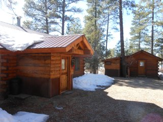 La Plata Mountains Cabins - 2 Cozy Log Cabins near Mesa Verde NP in SW Colorado - Mancos vacation rentals