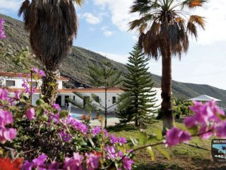 Wolfhouse - Unique Spanish finca with Office Space - Los Gigantes vacation rentals