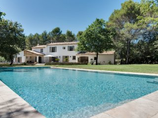 Beautiful farmhouse with a large pool and garden - Rognes vacation rentals
