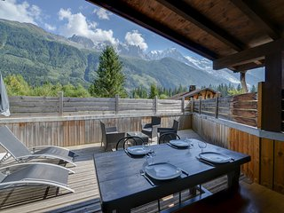 Mont Blanc on the big screen - Chamonix vacation rentals
