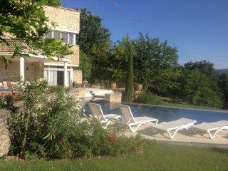 Superbe villa contemporaine au cœur du Luberon - Saint-Pantaleon vacation rentals