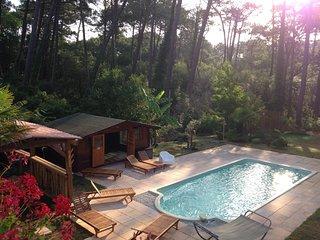 Villa dans la forêt : plage, surf et zen attitude - Hossegor vacation rentals