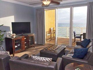 Amazing 3/3 Platinum, Gulf-Front Condo in Tropic Winds FREE BEACH SERVICE!! - Panama City Beach vacation rentals