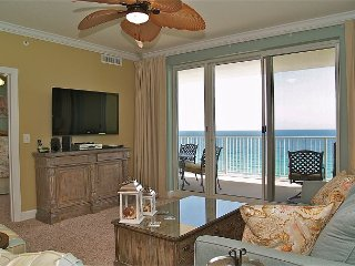 Fabulous 2 BR Condo - Gulf Front with FREE Beach Service!! New Tile Flooring! - Panama City Beach vacation rentals