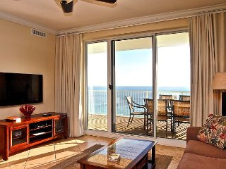 Endless Gulf View! Gulf Front, Fabulous Condo with Free Beach Service Chairs! - Panama City Beach vacation rentals