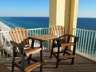 4 Bedroom Platinum Designer End Unit Incredible Gulf Views! Free Beach Chairs - Panama City Beach vacation rentals