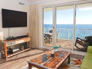 GULF FRONT CONDO in Ocean Reef- Huge Balcony w/ amazing views! FREE BEACH SVC - Panama City Beach vacation rentals